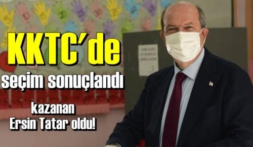 KKTC'de seçim sonuçlandı, yüzde 51.7 oy ile kazanan Ersin Tatar oldu!