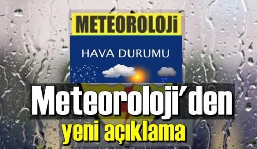 Meteoroloji'den yeni açıklama,Yağışlar ne zaman bitecek!