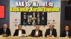HAK-İŞ/Hizmet-İş Başkanlar Kurulu toplantısı, telekonferans yöntemiyle yapıldı.
