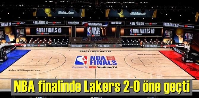 NBA finalinde Lakers sahadan 124-114 galip ayrıldı!