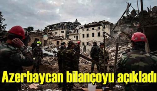 Azerbaycan, Şu ana kadar var olan Zaayatı açıkladı!