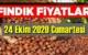 24 Ekim Cumartesi Türkiye günlük Fındık piyasası, Fındık bugüne nasıl başladı.