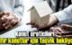 Konut üreticileri sıfır konutlar için teşvik bekliyor