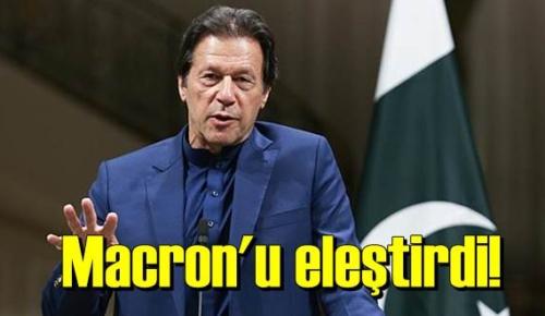 Pakistan Başbakanı Han, Macron'u eleştirdi!