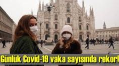 25 Ekim Pazar, İtalya'da günlük Covid-19 vaka sayısında rekor!