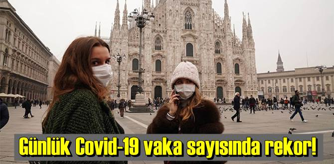 İtalya'da günlük Covid-19 vaka sayısı