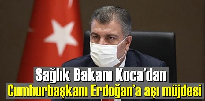 """Sağlık Bakanı Koca'dan müjde! """"İnsan çalışması safhasına gelmiş olduğunu müjdelemek istiyorum""""."""