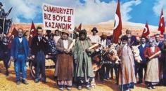 Bugün Cumhuriyet Bayramı'nın 97.yıldönümü Kutlu ve Mutlu Olsun