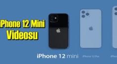 YouTuber George Buhnici, iPhone 12 Mini boyutunu gösteren bir video yayınlandı!