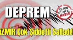 iZMİR Çok Şiddetli Sallandı! Deprem İzmir'de paniğe yol açtı..