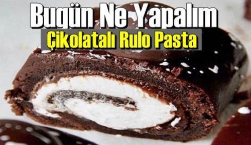 Bugün Ne Yapalım – Çikolatalı Rulo Pasta