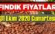 31 Ekim Cumartesi Türkiye günlük Fındık piyasası, Fındık bugüne nasıl başladı.