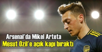 Arsenal'in menajeri Mikel Arteta'dan Mesut Özil'e bir Şans!