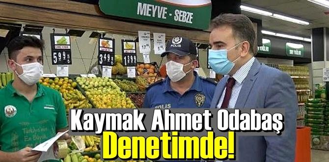 Arnavutköy Kaymakamı Koronavirüs Denetimlerinde bulundu, kurallara uymayan işletmelere ceza kesildi.
