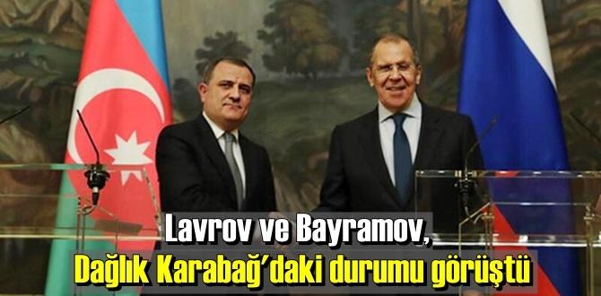 Lavrov ve Bayramov Görüşüp önemli konuların altını çizdiler!