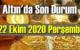 22 Ekim 2020 Perşembe Ekonomi'de Altın piyasası, Altın güne nasıl başlıyor!