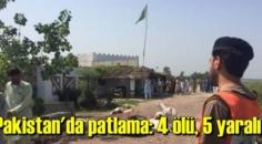 Pakistan'da patlama meydana geldi: Ölü ve yaralılar var..