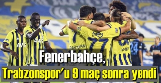 Ligde 6. hafta Fenerbahçe Mutlu, Trabzonspor'u 3-1 yendi!