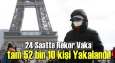 24 Saatte Rekor Vaka tam 52 bin 10 kişi Yakalandı!