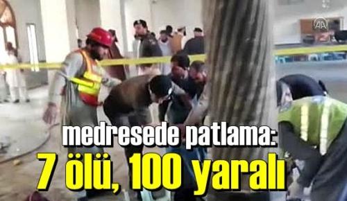Pakistan'da ibadethaneyi patlattılar, Ölüler ve onlarca yaralı var!