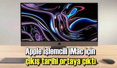 Apple işlemcili iMac'ın kesin çıkış tarihi Sızdırıldı!