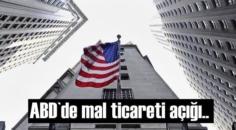 ABD Ticaret Bakanlığı, eylül ayına ait mal ticareti dengesi, toptan eşya ve perakende stoklarına ilişkin verileri açıkladı.