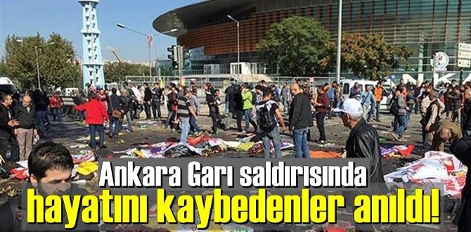 Ankara Garı saldırısında Ölenler Unutulmadı, hayatını kaybedenler anıldı!