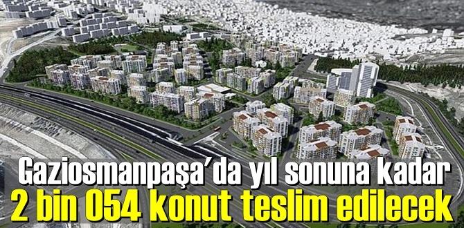 Kentsel dönüşümün simge noktalarından Gaziosmanpaşa'daki birçok projede sona gelindi.