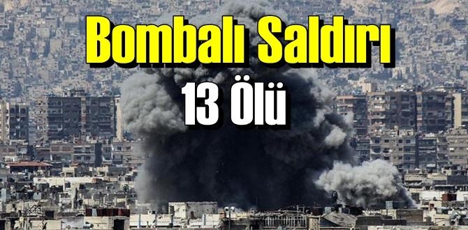 Durmak bilmiyor, yine Bombalı saldırı! 13 Ölü