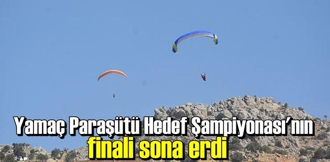 Türkiye Yamaç Paraşütü Hedef Şampiyonası Sonuçlandı!
