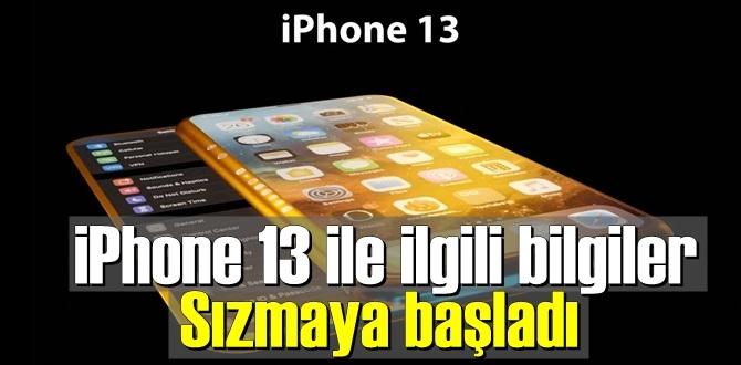 iPhone 13 ile ilgili bilgiler Sızmaya başladı!