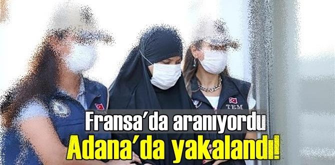 Kırmızı Bültenli DEAŞ üyesi Soumaya Raissi, Fransa'da aranıyordu Adana'da yakalandı!