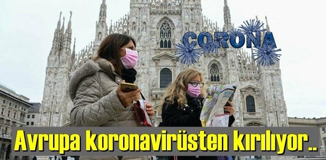 Avrupa'nın, koronavirüs salgını ile mücadelesi devam ediyor, sayılar inmek bilmiyor!
