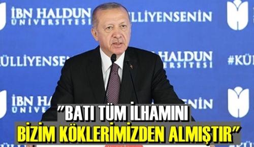 Cumhurbaşkanı Recep Tayyip Erdoğan: Gerçek iktidarın fikri iktidar olduğunu da gayet iyi biliyoruz!