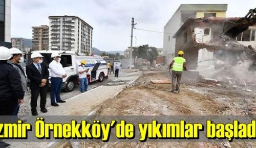 Örnekköy'deki kentsel dönüşüm çalışmasında ikinci etap çalışması başladı.