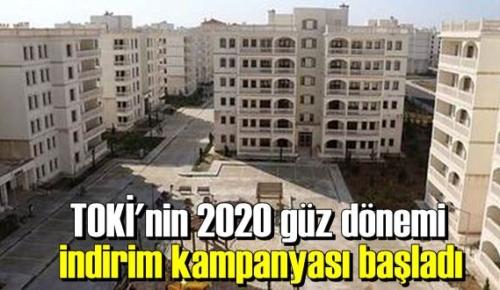 TOKİ'nin Yüzde 20 indirimin uygulandığı kampanyaya başvurular başladı.