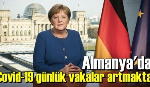 Almanya'da Covid-19 günlük vakaları artmaya devam ediyor!