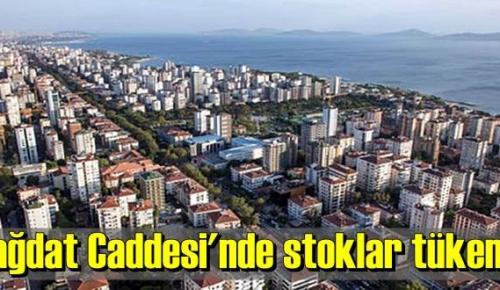 İstanbul'un gözde noktası Bağdat Caddesi'nde konuta talep yüksek seviyede görülüyor.