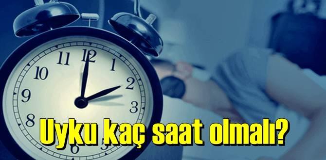 Günlük Uyku Saati Hesaplama – Uyku kaç saat olmalı?