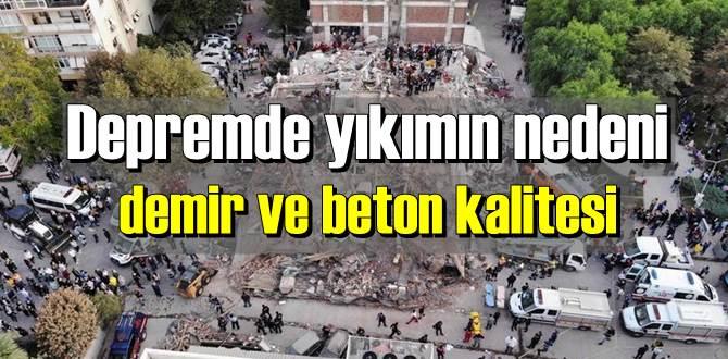 İzmir depremi sonrası uzmanlar yıkımları değerlendirdi.