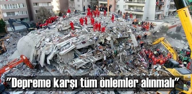 İzmir depremi, inşaat sektöründe de büyük yankı uyandırdı.