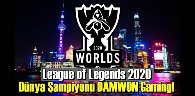 League of Legends 2020 Dünya Şampiyonu DAMWON Gaming!