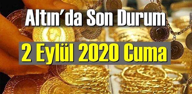 2 Ekim 2020 Cuma/ Ekonomi'de Altın piyasası, Altın güne nasıl başlıyor!