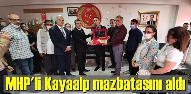 MHP'li Cihan Kayaalp mazbatasını alıp açıklamalarda bulundu!