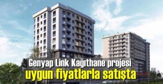 Genyap Link Kağıthane projesi uygun fiyatlarla satışta