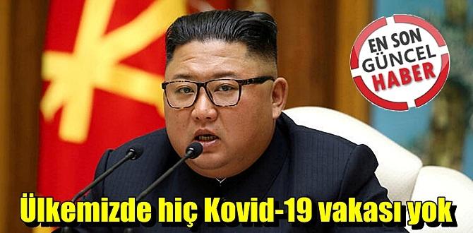 """Net Konuştu! """"Ülkemizde hiç Kovid-19 vakası yok"""" dedi!"""