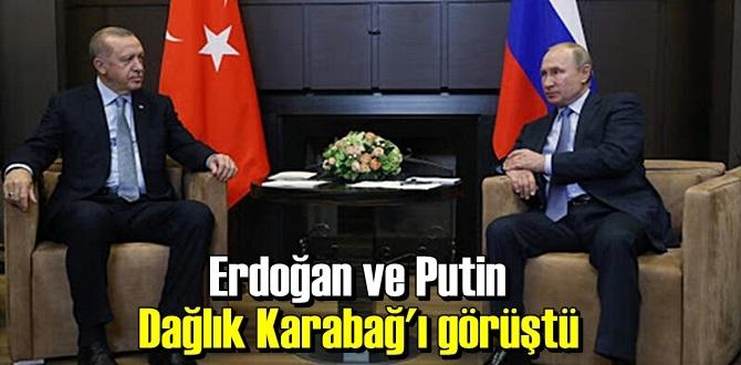 Başkan Erdoğan ve Putin Telefonda Karabağ durumunu görüştü!