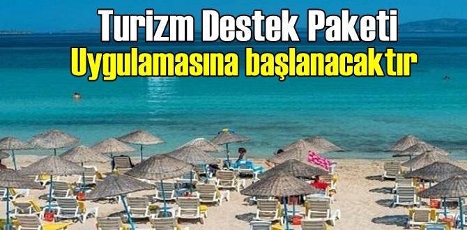 Turizm sektöründeki işletmelere Destek Paketi açıklandı!