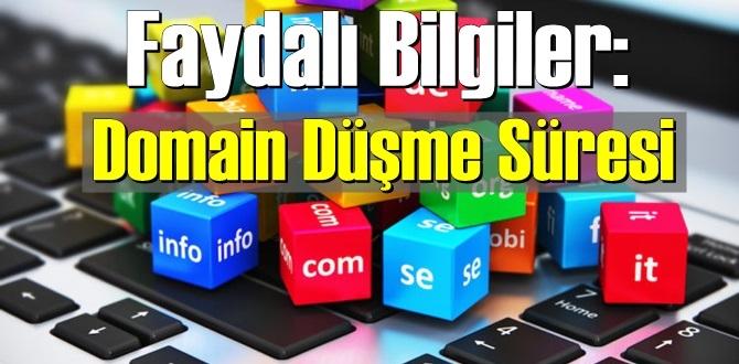 Faydalı Bilgiler: Domain Düşme Süresi – Domain (alanadı) ne zaman düşer ?