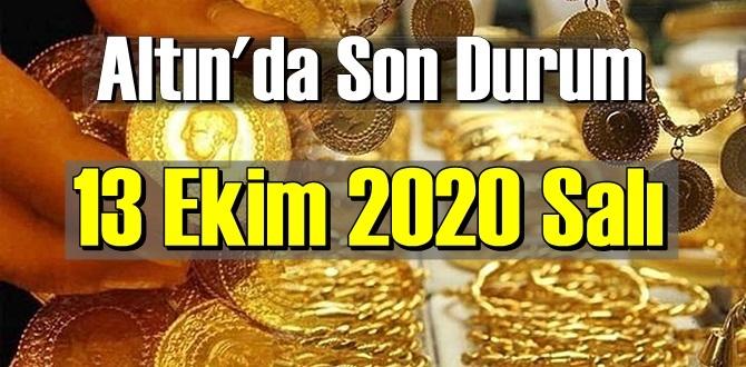 13 Ekim 2020 Salı Ekonomi'de Altın piyasası, Altın güne nasıl başlıyor!